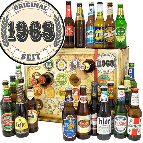 Original seit 1968 + Bier Adventskalender Welt + Bier aus aller Welt