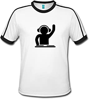 DJ Techno Party Club Musik Männer Retro-T-Shirt