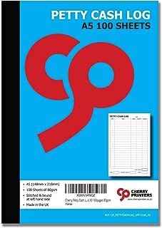 a5 cash book