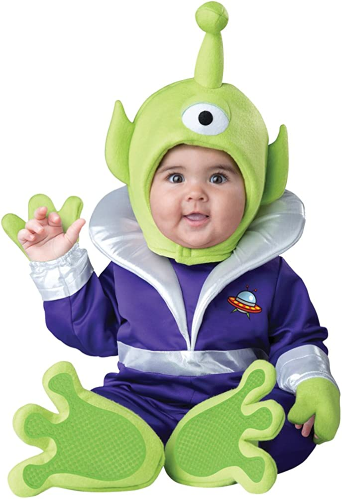 InCharacter Baby Boys' Mini Martian L Sales of Mail order SALE items from new works Alien Infant Funny Costume