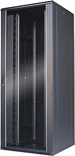 WAYTEX Baie de brassage réseau 42U noire 800x800 montée