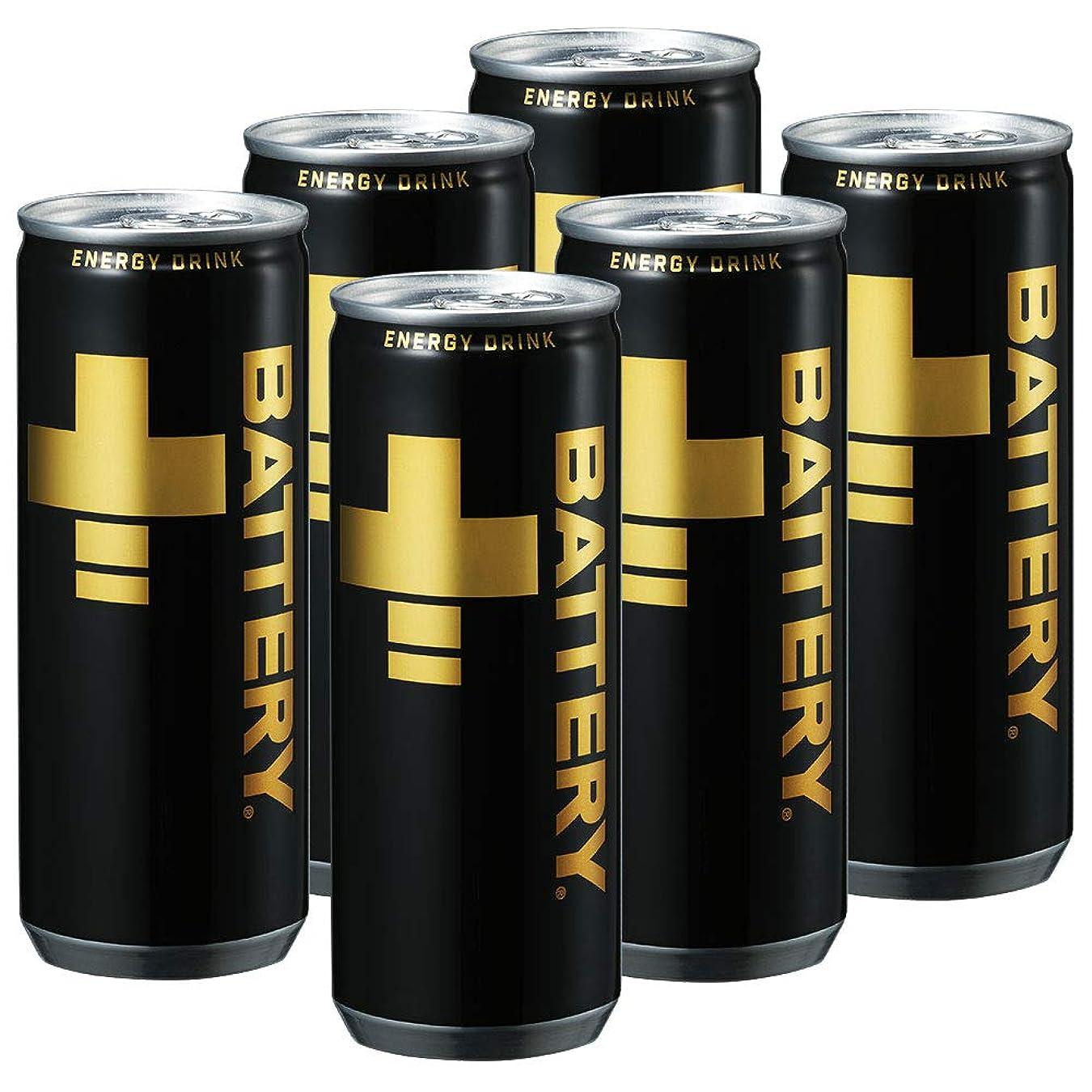フェザー予約魔術バッテリー(BATTERY) エナジードリンク 250ml×6本