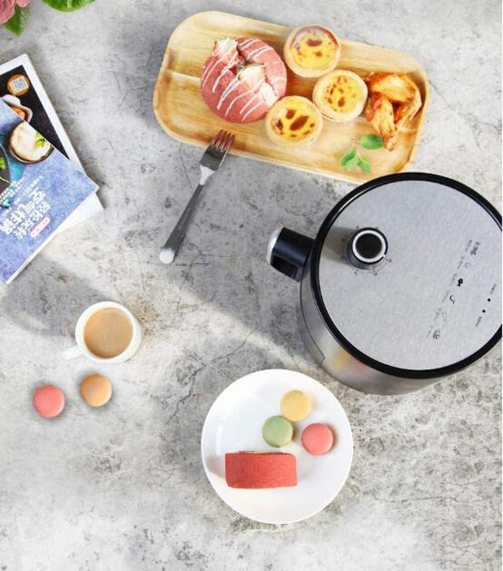 Air gezonde lucht friteuse knapperig oven, accessoire kit die 100 recepten bevat, koken mand divider, (Kleur: Roze) ggsm (Color : Pink) Pink