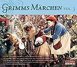 Grimms Märchen Box 3: Rotkäppchen, Der Wolf und die sieben Geißlein, Die goldene Gans, Tischlein deck dich, Die Bremer Stadtmusikanten, Der Hase und der...