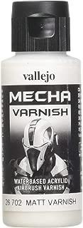 Vallejo Mecha Matt Varnish 60ml Painting Accessories