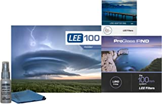 Lee Filters LEE100 77mm ProGlass 1.8 IRND Kit - Includes LEE100 Filter Holder, 100mm ProGlass IRND 6-Stop 1.8 Filter, 77mm Wide Angle Adapter Ring
