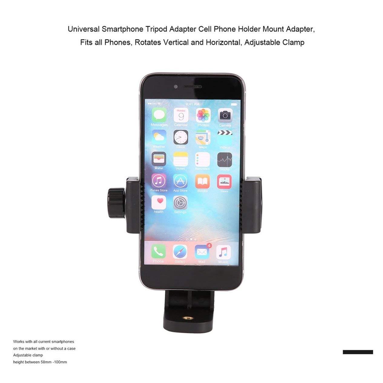 EdBerk74 Clip universal ajustable para trípode Clip para teléfono ...