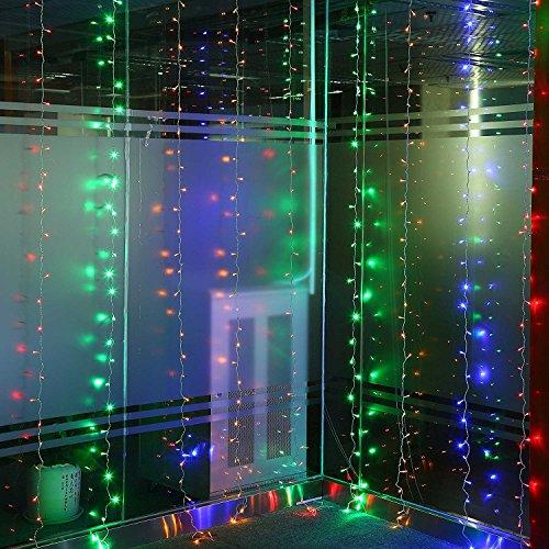 Glighone Tenda Luminosa di Natale 600LED 6 * 3 Metri
