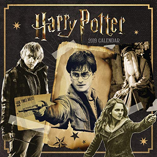 Harry Potter Official 2019 Calendar - Square Wall Calendar F