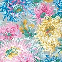 Free Spirit Fabrics Kaffe Fassett 2015 Collective Philip Jacobs Grey Shaggy Mums