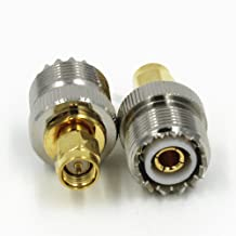 SO239 UHF Female Jack to SMA Male Plug RF Adapter Connector Quick USA Shipping