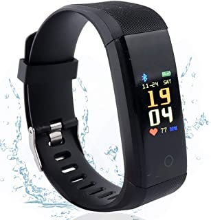 Vech Fitness Tracker with Heart Rate Monitor, Activity Tracker Pedometer with Step Counter Sleep Monitor, Color Screen IP6...