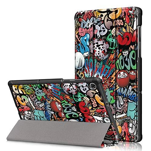 RLTech Hoes voor Lenovo Tab M10 FHD Plus, Slanke Lichtgewicht Smart Shell Folio Hoes met Standaardfunctie voor Lenovo Tab M10 FHD Plus TB-X606F 10.3 Inch Tablet (01)