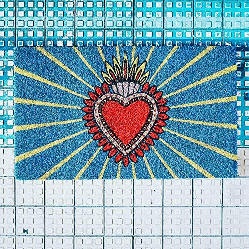 Kitsch Kitchen Milagro Heart Doormat