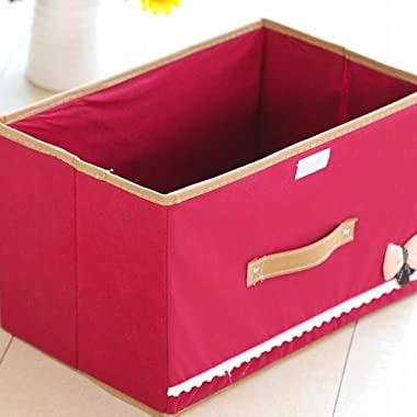 Storage Box Storage Bins Baskets Toy Box Home Containers Cubes Bin Box Gift Baskets Storage Ches-Environmentally Friendly Fab