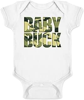 Baby Buck Camo Print Infant Bodysuit