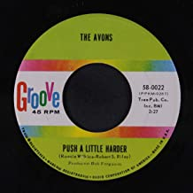 push a little harder / oh, gee baby! 45 rpm single