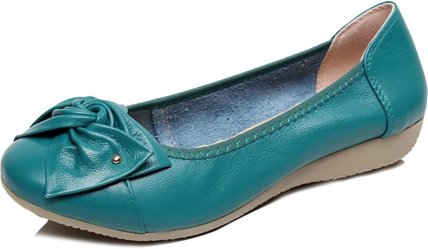 Odema Women's Slip On Flat Driving Loafers Mother shoes