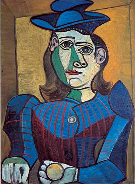 Mejor precio Editions Ricordi 0801N15682 negro Picasso Femme Chapeau Chapeau Chapeau azul Puzzle de 1000Piezas  minorista de fitness