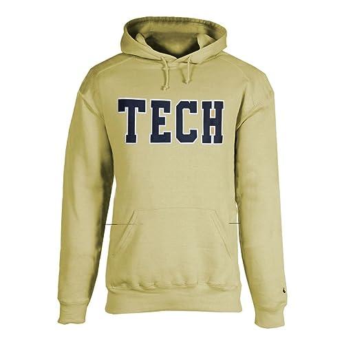 ea132ff3a Champion Georgia Tech Yellow Jackets TECH Applique Pullover Sweatshirt  Hoodie
