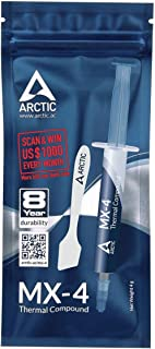 Arctic MX-4 Thermal Compound - [4 Grams] With Spatula Paste For Coolers   Heat Sink Paste   Composed of Carbon Micro-parti...