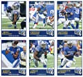 2019 Panini Score Football Veteran Detroit Lions Team Set of 10 Cards: Matthew Stafford(#213), Kerryon Johnson(#214), Kenny Golladay(#215), LeGarrette Blount(#216), Jarrad Davis(#217), Marvin Jones Jr.(#218), Theo Riddick(#219), Ezekiel Ansah(#220), Dariu