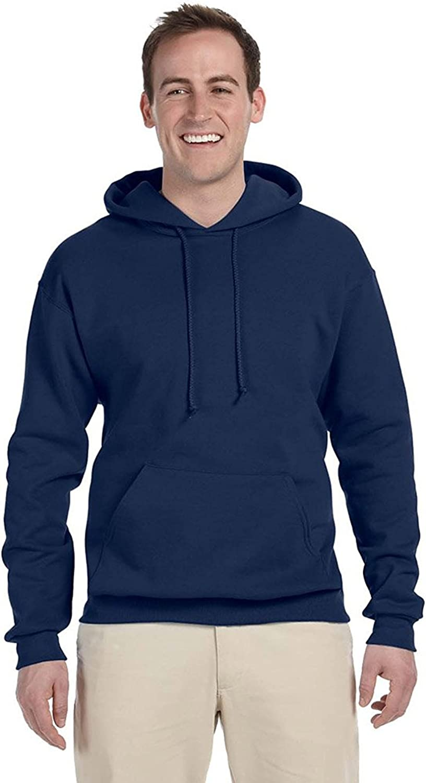 Jerzees Tall 8 oz., 50/50 NuBlend Fleece Pullover Hood (996MT)- J NAVY,2XLT