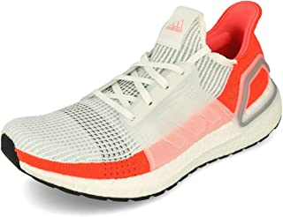 adidas Ultra Boost 19 Men's Performance Shoes, Cloud White/Blue Tint/Grey Two