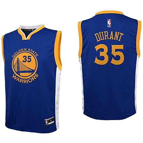 3c4a897aa99 adidas NBA Golden State Warriors Kevin Durant Youth Boys Replica Player Road  Jersey