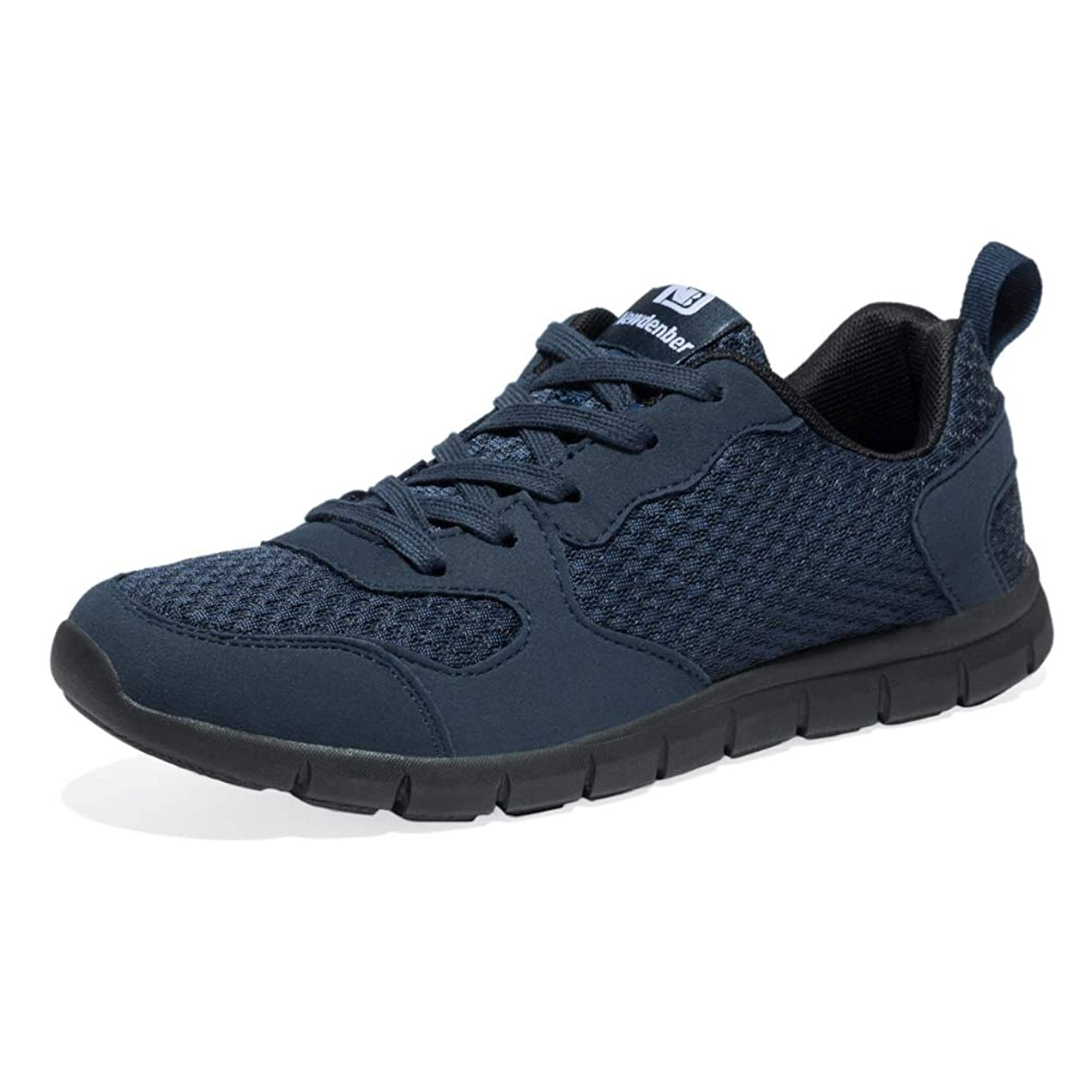 請負業者飛び込む急勾配の[Newdenber] NDB 軽量 スニーカー 足がつかれない メンズ 運動靴 くつ ウォーキングシューズ 24.5~30.0センチ カジュアル