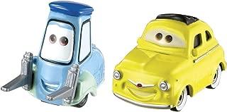 Disney/Pixar Cars, 2015 Radiator Springs Die-Cast Vehicles, Luigi & Guido #4,5/19, 1:55 Scale