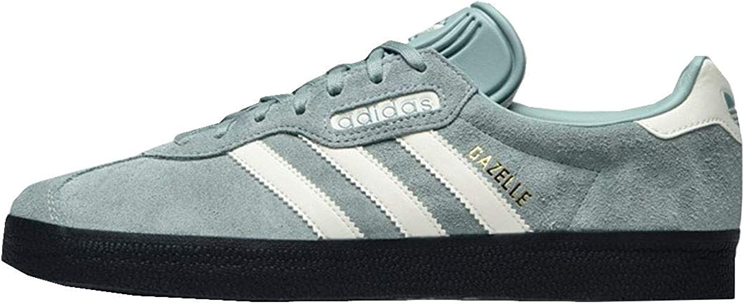 Adidas Originals Authentic Gazelle Super Mens Trainers Sneakers CQ2796 Tactile Green