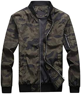 BLTR Men Outdoor Hoodie Camo Quilted Padded Anorak Parka Puffer Down Jacket