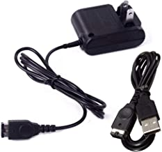 Gameboy Advance SP Charger, AC Adapter for Nintendo NDS and Game Boy Advance SP Systems Power Charger, Wall Travel Charger Power Cord 5.2V 450mA for GBA SP (Charger Kits)