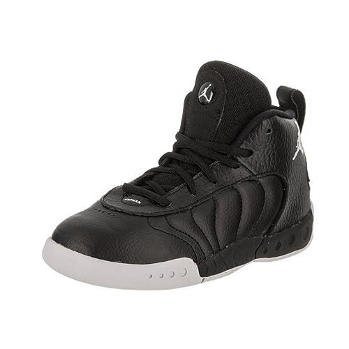d58a76db58ff Jordan Nike Toddlers Jumpman Pro BT Black White Wolf Grey Basketball Shoe 10