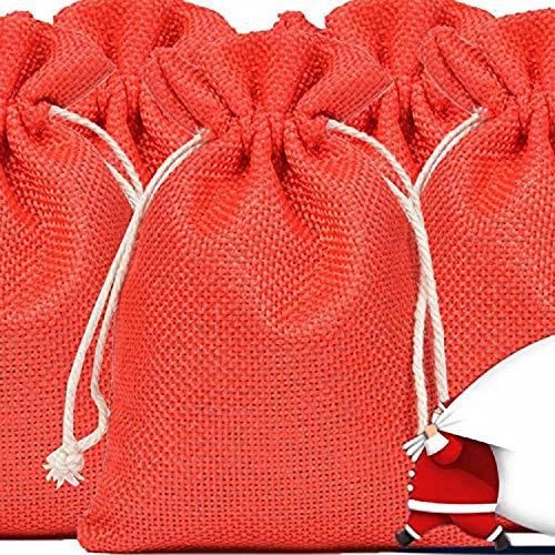 weihnachtsgeschenke für frauen geschenkideen weihnachten geschenke für männer adventskalender zum befüllen kinder geschenke zum geburtstag personalisierte papa und mama 24 Stück stoffbeutel klein