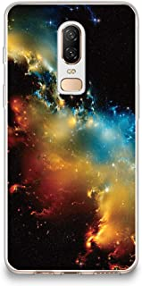 CasesByLorraine OnePlus 6 Case, Galaxy Space Stardust Nebula Case Flexible TPU Soft Gel Protective Cover for OnePlus 6 (I20 Style 3)