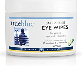 TrueBlue Safe and Sure Eye Wipes, 50 Count