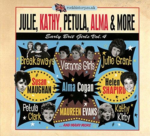 Vol. 4-Julie, Kathy, Petula, Alma & More :early Br (2 CD)