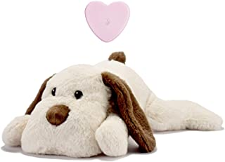 Moropaky Puppy Heartbeat Toy for Anxiety Relief Dog Behavioral aid Toy for Puppies Sleep Aid Separation Anxiety Soother Cu...