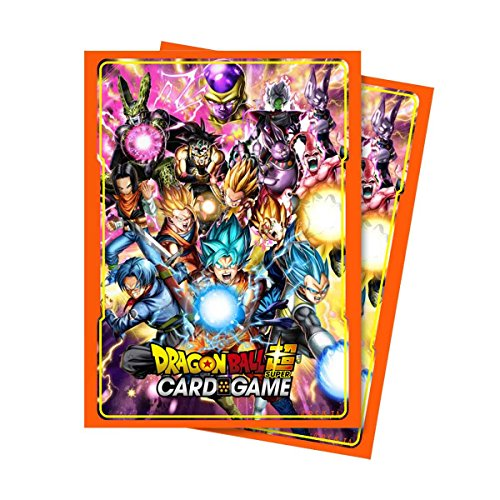 Ultra Pro Abysse Corp _ Accdbs002 PC Dragon Ball Super - Toutes les étoiles Protector manches - 65ct- X5, Multi Couleur - Version Anglaise