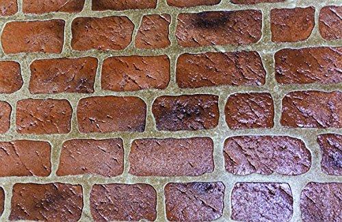 Artcrete MR-OLDC Mini Roll Stencil - Old Chicago Brick, 100 sq. ft.