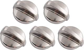 Wadoy WB03T10284 Top Burner Knob Replacement for General Electric GE Range/Stove/Oven Control Knob AP4346312 PS2321076 (5 PCS)