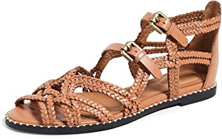 See by Chloe Women's Katie Braided Sandals, Sierra, Tan, 6.5 Medium US