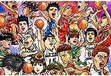XIAOSHI Imagen 1000 Piezas Madera Adultos Educativos Rompecabezas Juguetes Para Niños Póster Slam Dunk Master 3D Foto Estar Dormitorio Decoración Para Hogar Fondo Wallpaper Mural