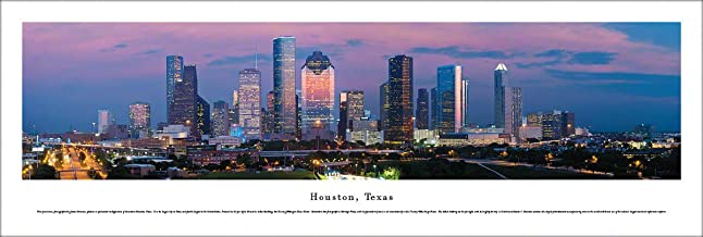 Houston, Texas - Unframed Blakeway Panoramas Print
