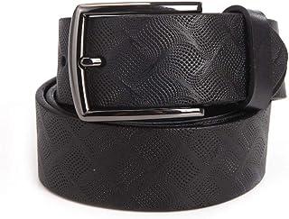 """Men's Full Grain Leather Dress Belt for Casual Jeans 1 1/2"""""""