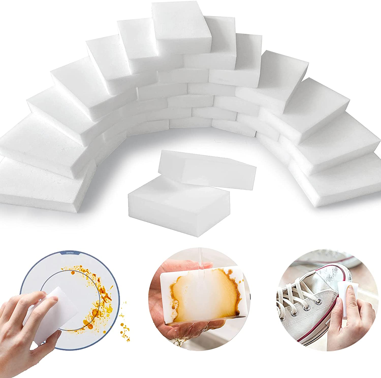 YeahWhee 50-Pack Magic Cleaning Sponge Eraser Sheets  $8.09 Coupon