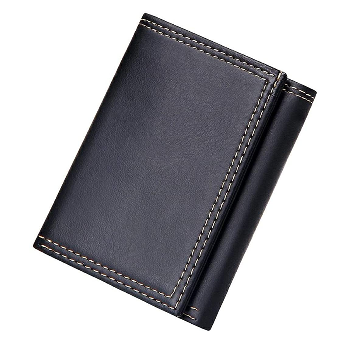 どちらもギャング忠実メンズ革財布メンズウォレットメンズレザークレジットカードホルダー3つ折りウォレット
