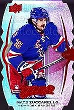 (CI) Mats Zuccarello Hockey Card 2016-17 Upper Deck MVP Colors and Contours 57 Mats Zuccarello
